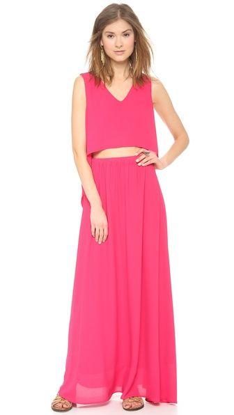 shopbop pink dress