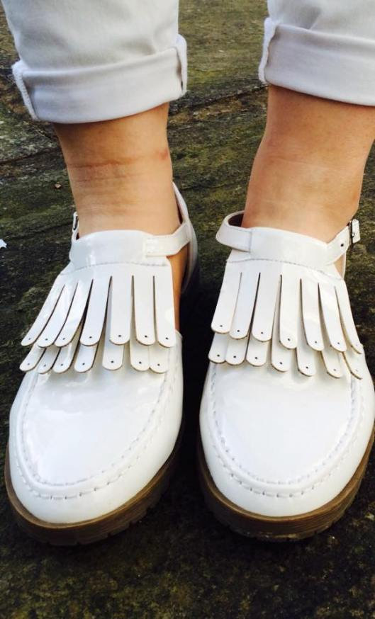 ASOS shoes fringing