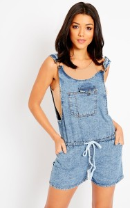 dungarees denim pretty little thing