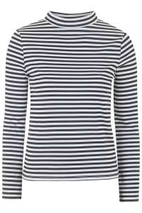 monochrome topshop striped top