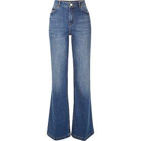 river island falre jeans