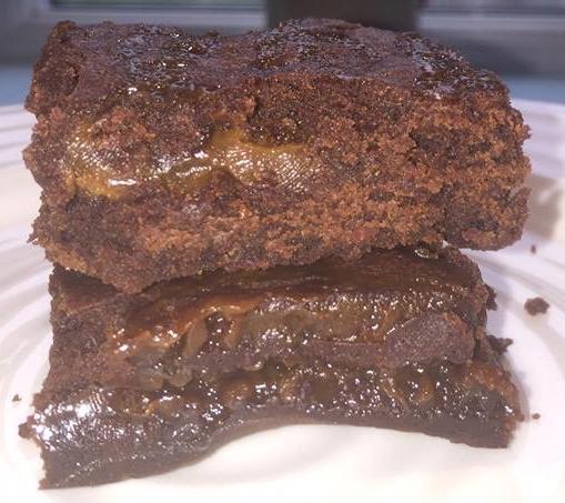 salted caramel brownie recipe