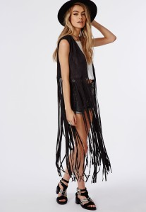 sleeveless tassel