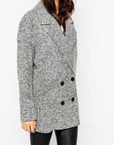 asos grey jacket