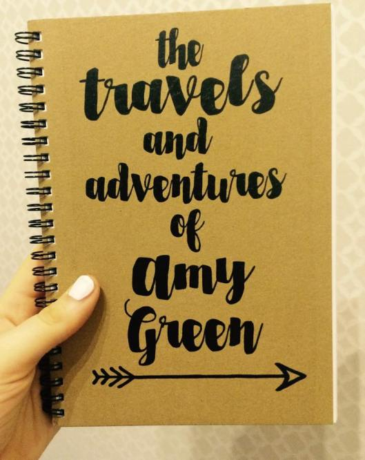 Backpacking, travelling, diary, journal