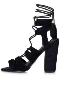 topshop black shoe