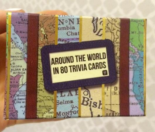 trivia cards, Backpacking, travelling